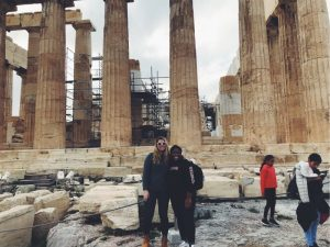 Parthenon with Jaelyn